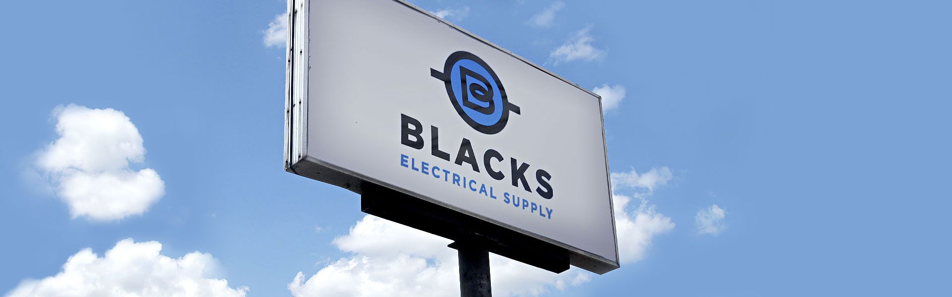 Blacks Electrical Supply - Store Sign