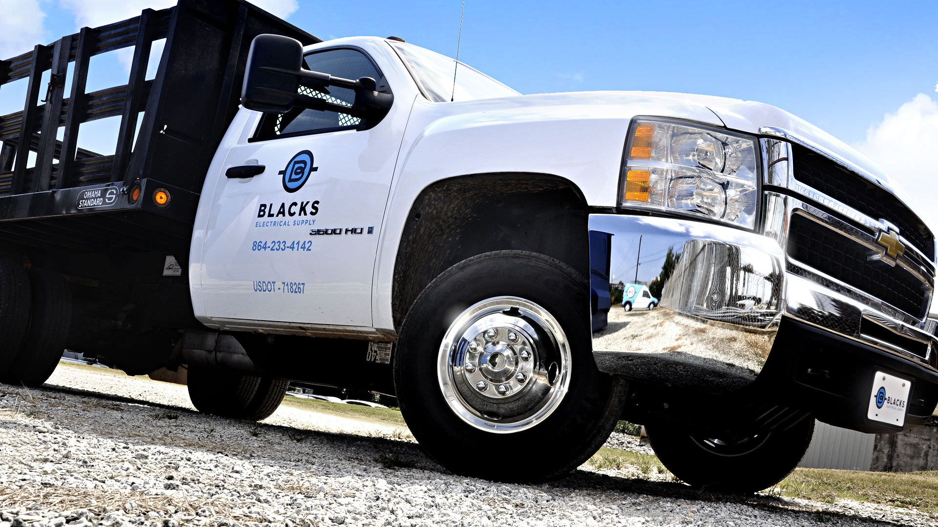 Blacks Electrical Supply - Utility Truck