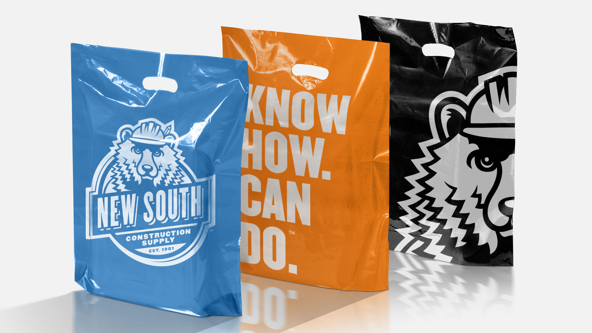New South Construction Supply - Retail Bags