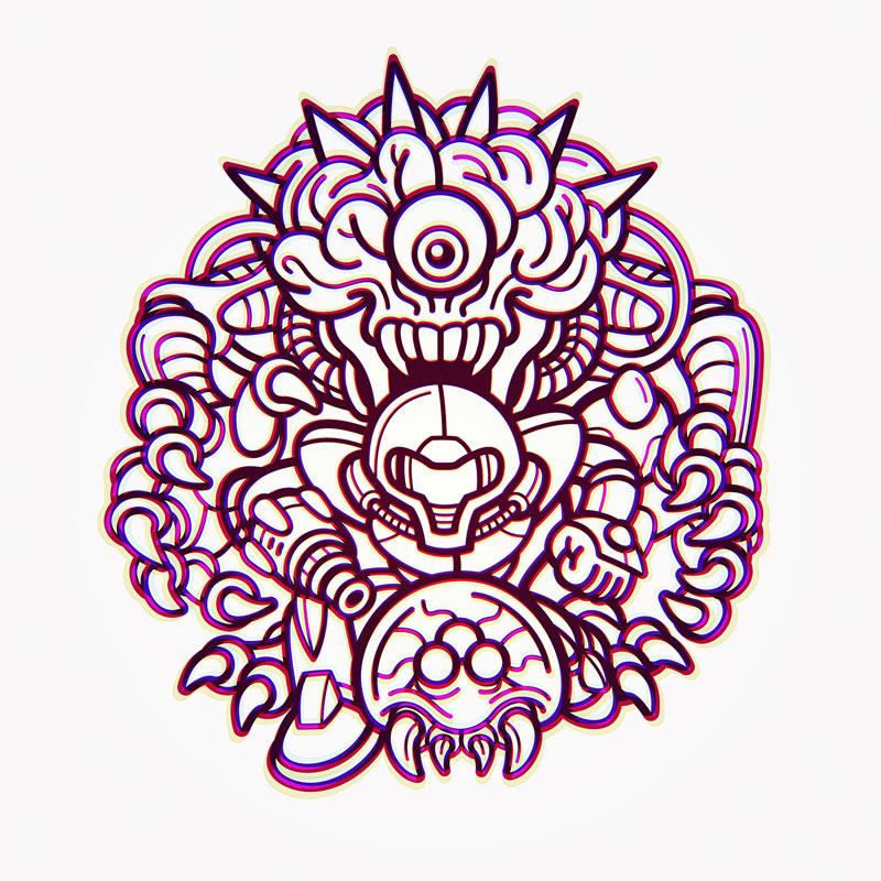 Metroid-Samus-MotherBrain
