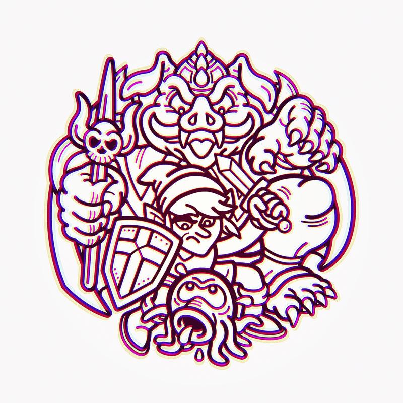 Ocotorok-Link-Ganon
