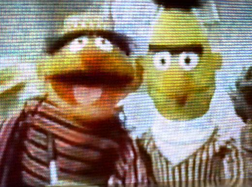 Classic Bert and Ernie … and Gangsta Rap – Thanks YouTube