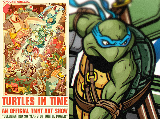 """Turtles in Time"" at Bottleneck Gallery"