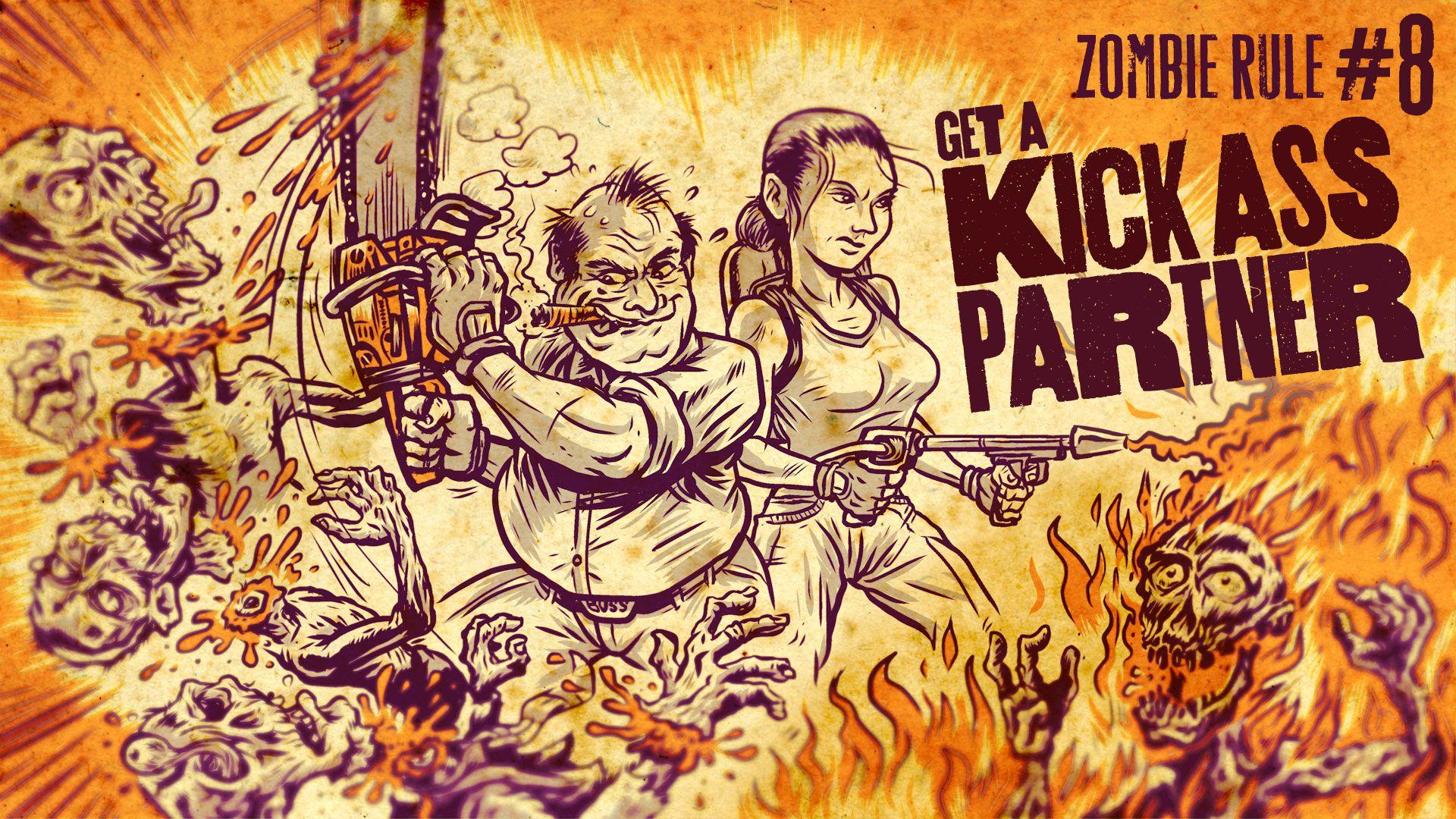 Zombie Rule 8: Get a Kick Ass Partner