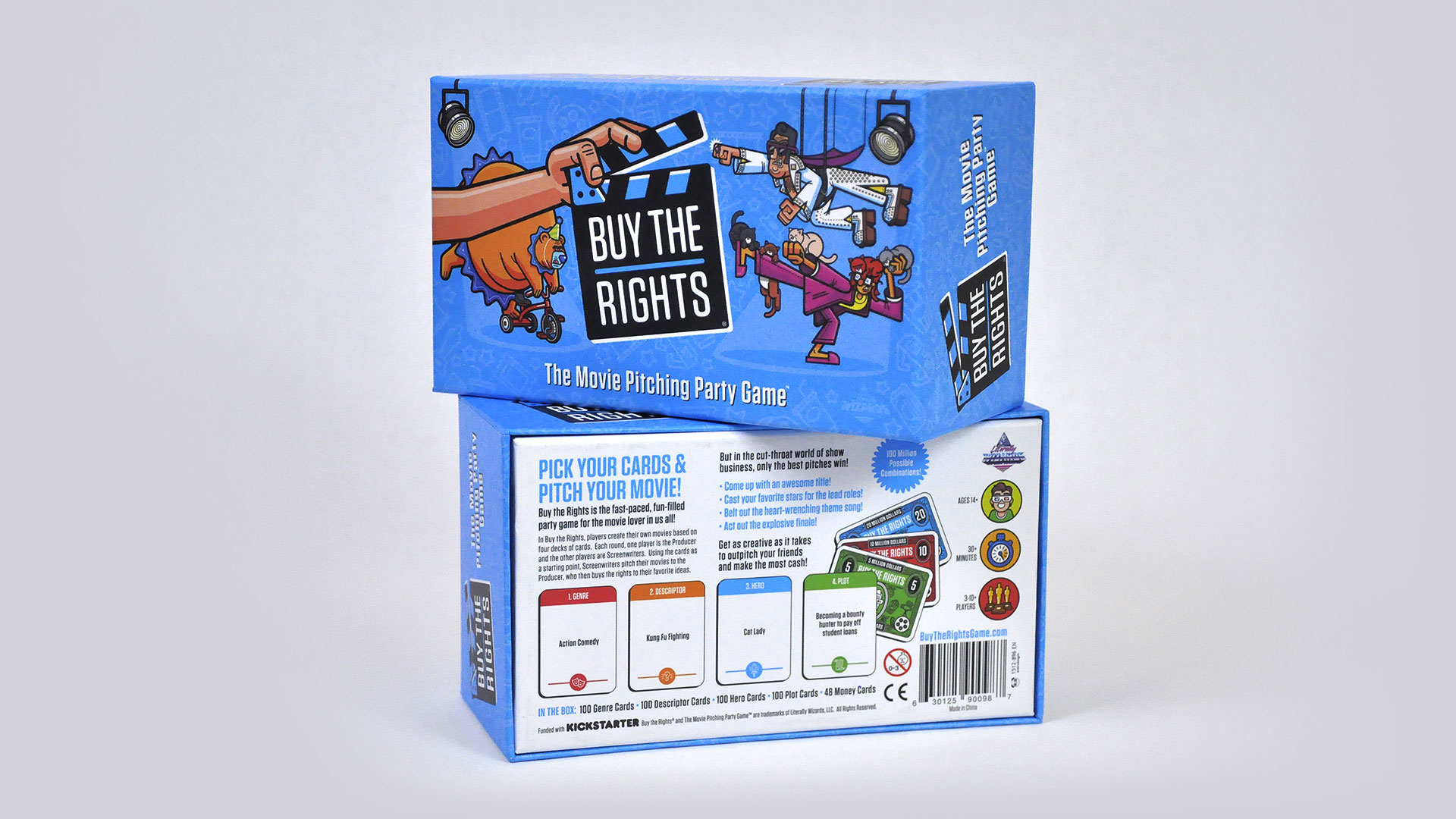 Buy the Rights: The Movie Pitching Party Game