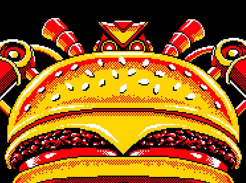 Burger Bot Boss Battle