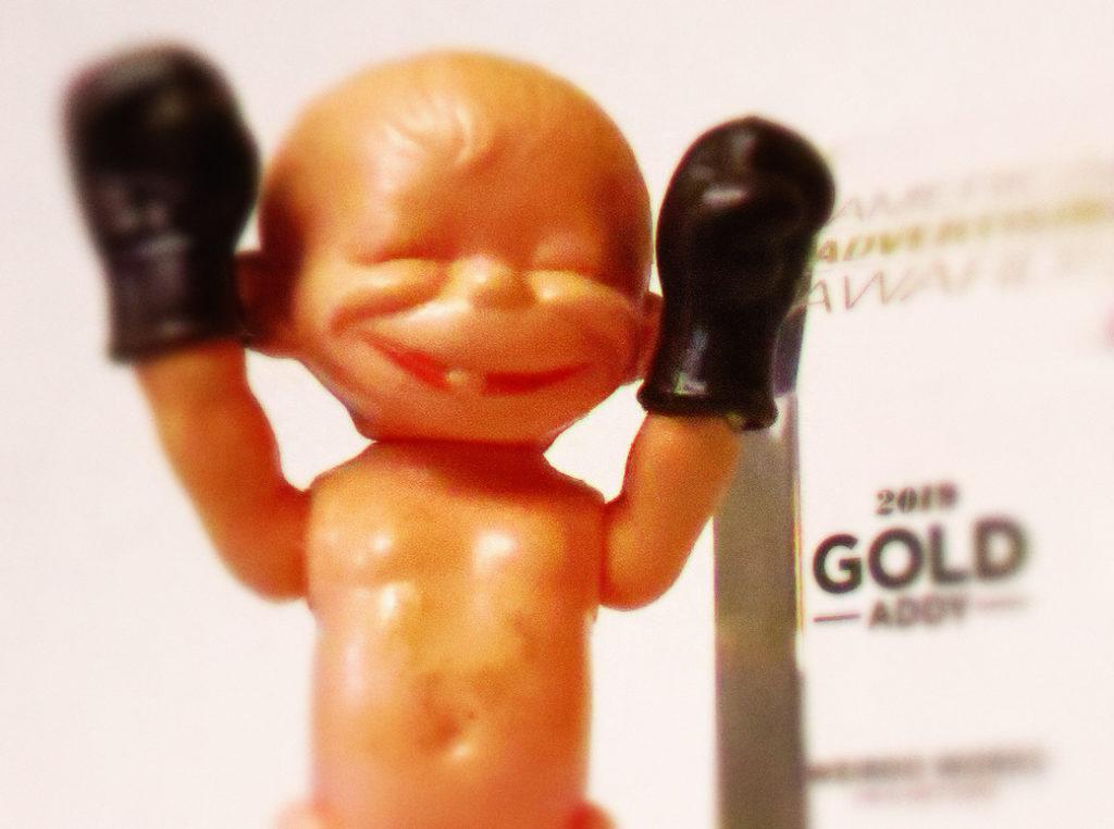 Gold Addy winner