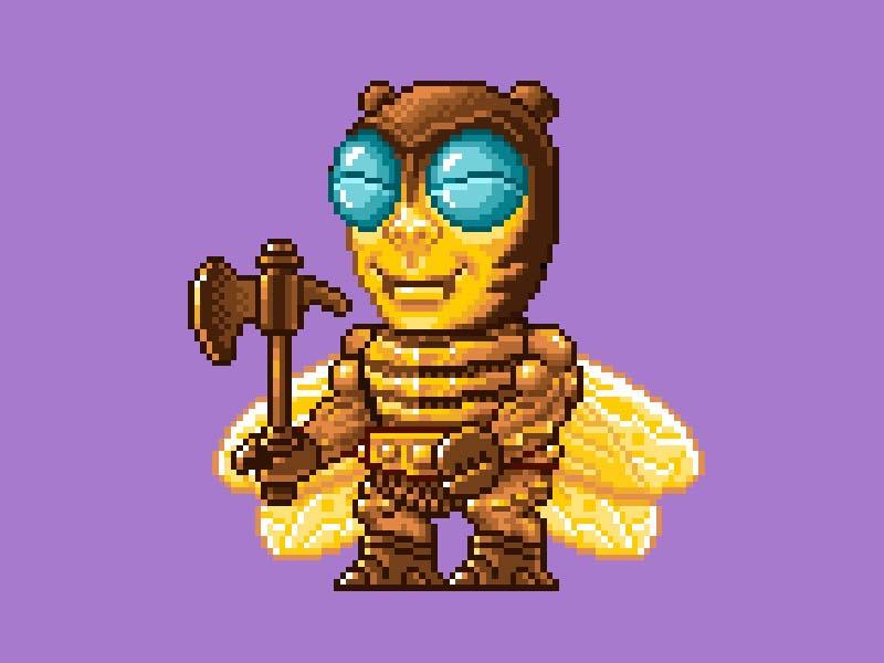 MOTU Pixel Art - Buzz Off