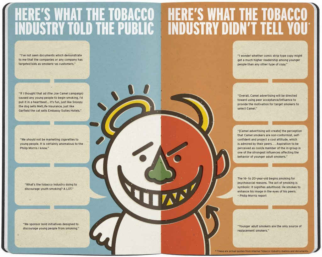 Rage Against the Haze: Devil/Angel and the Tobacco Industry