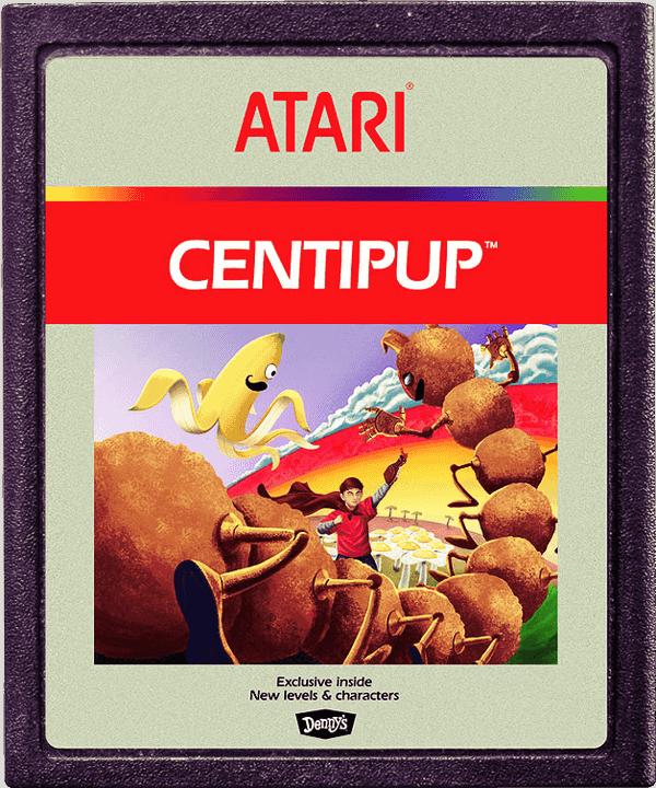 Centipup Atari Cartdridge