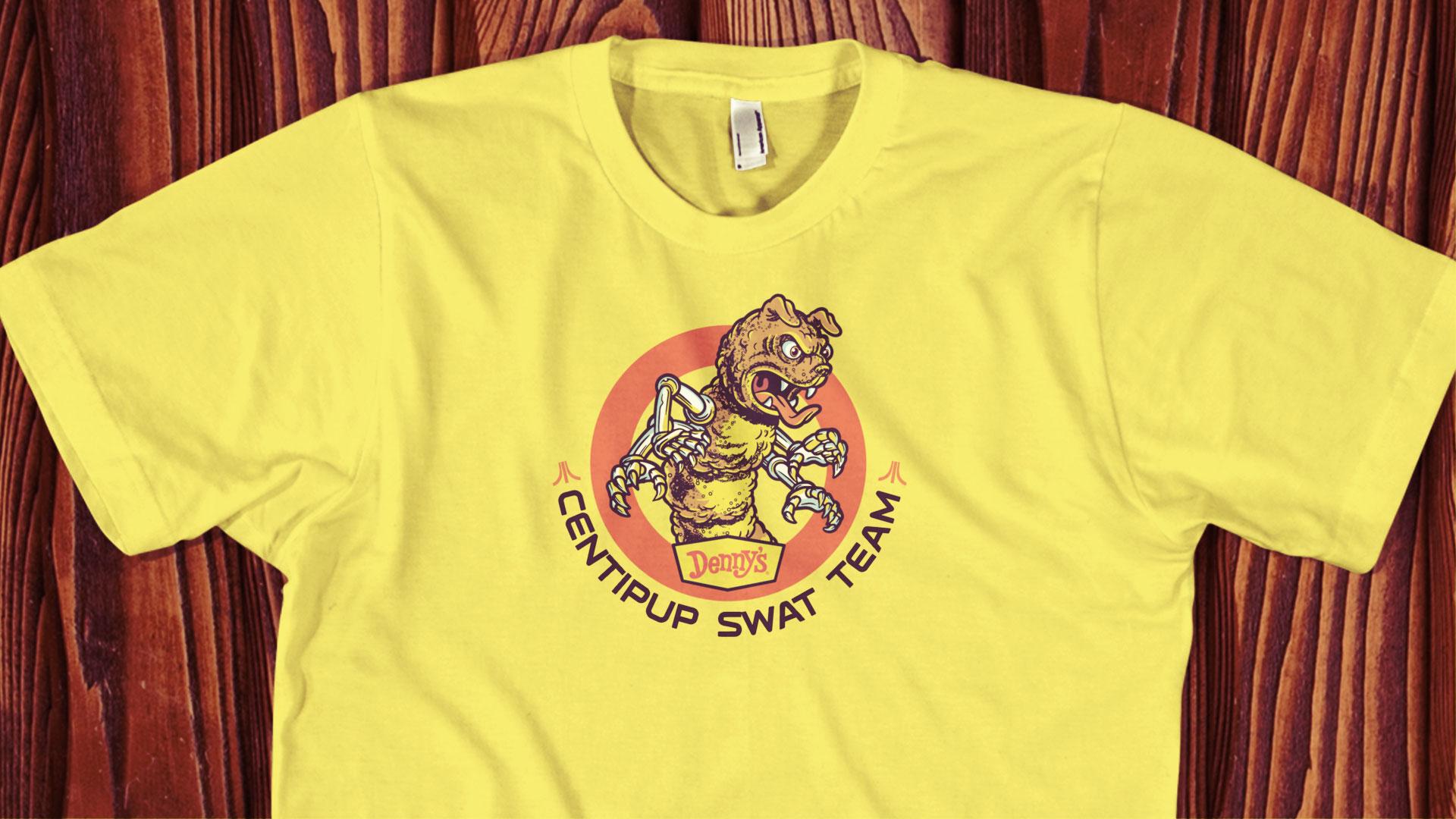 Denny's Atari Centipup T-shirt