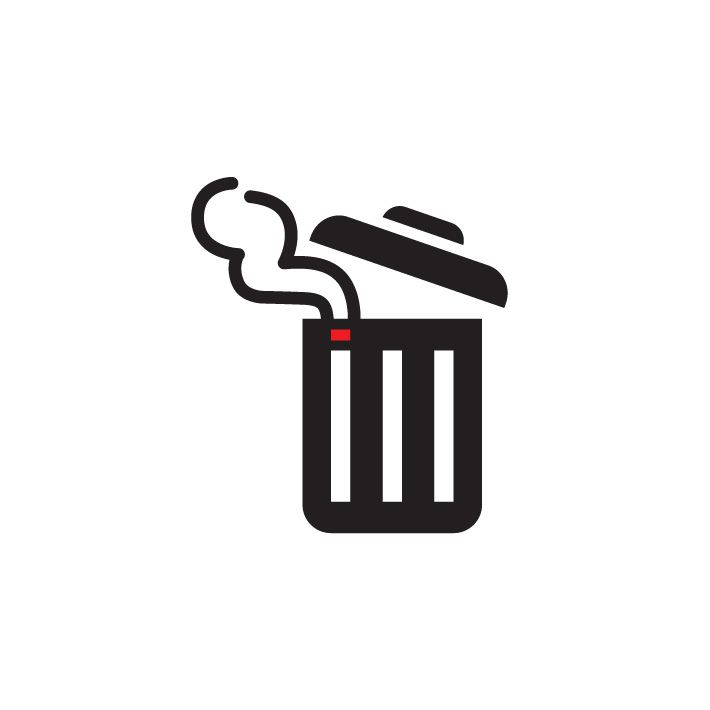 Trash Smoking