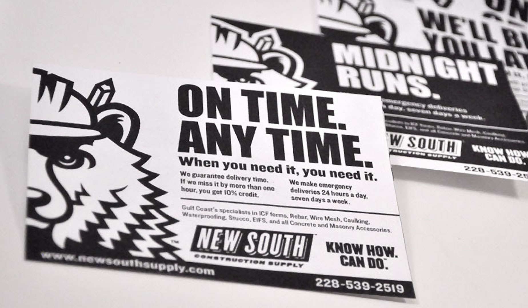 New South Construction Supply - Ad Series