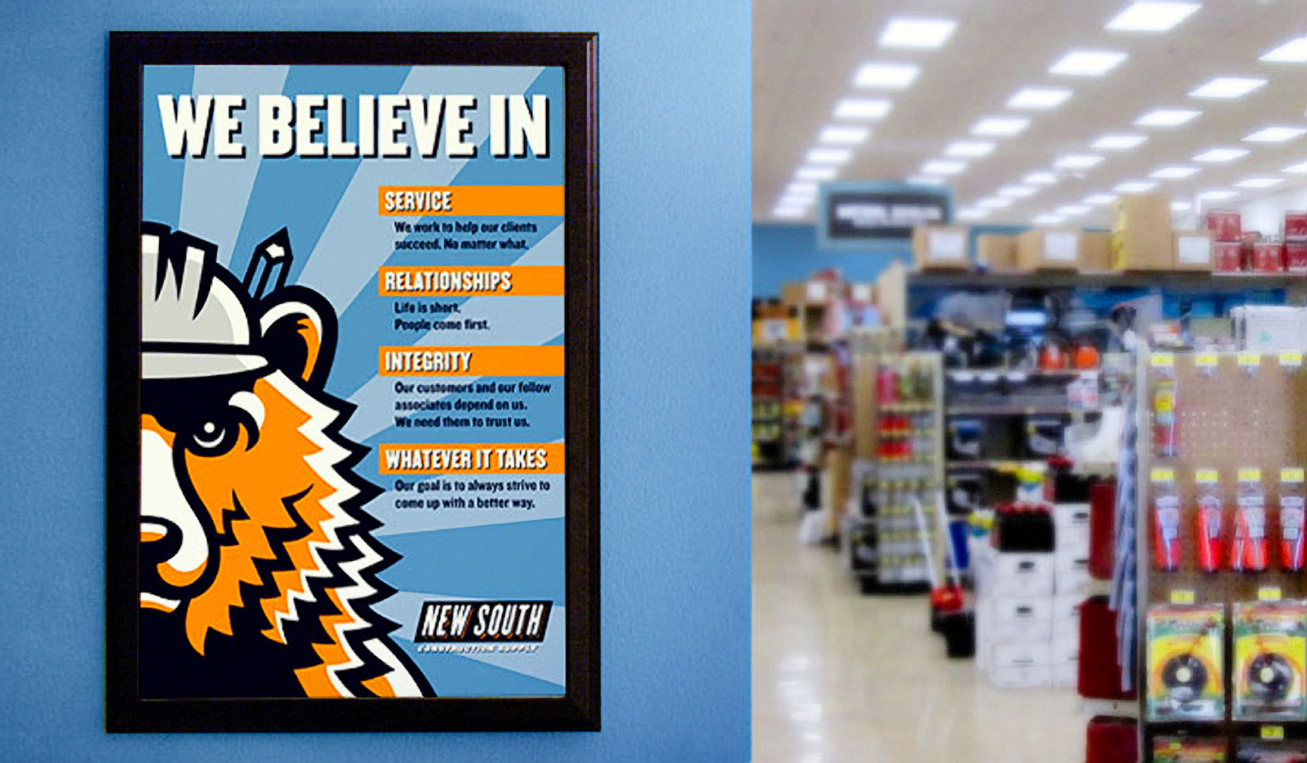 New South Construction Supply - Poster