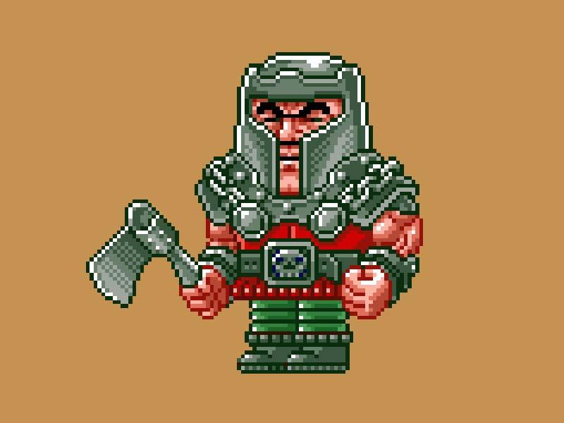 MOTU Pixel Art - Ram Man