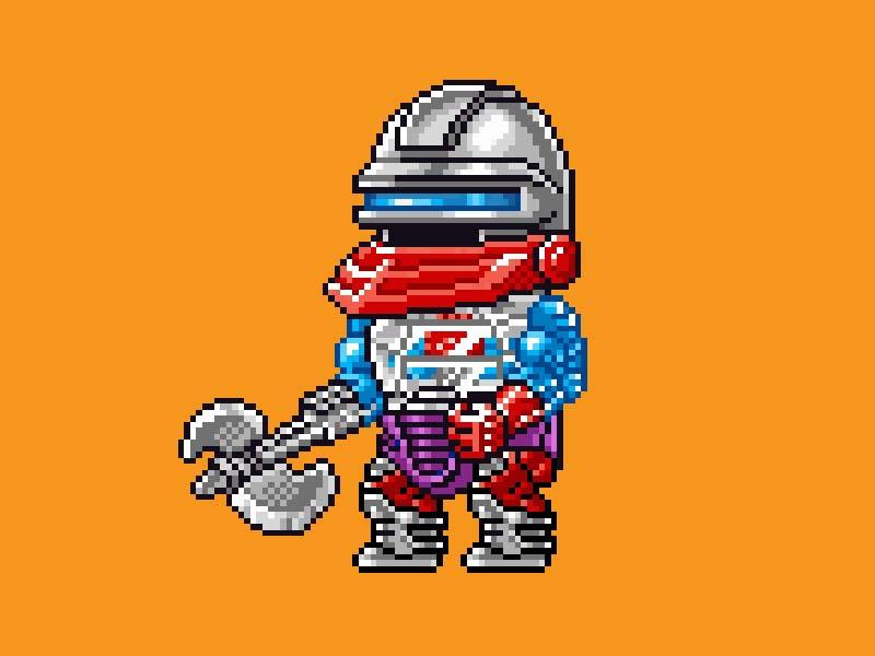 MOTU Pixel Art - Roboto